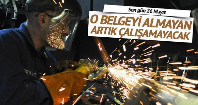 İstanbul Mesleki Yeterlilik Belgesi